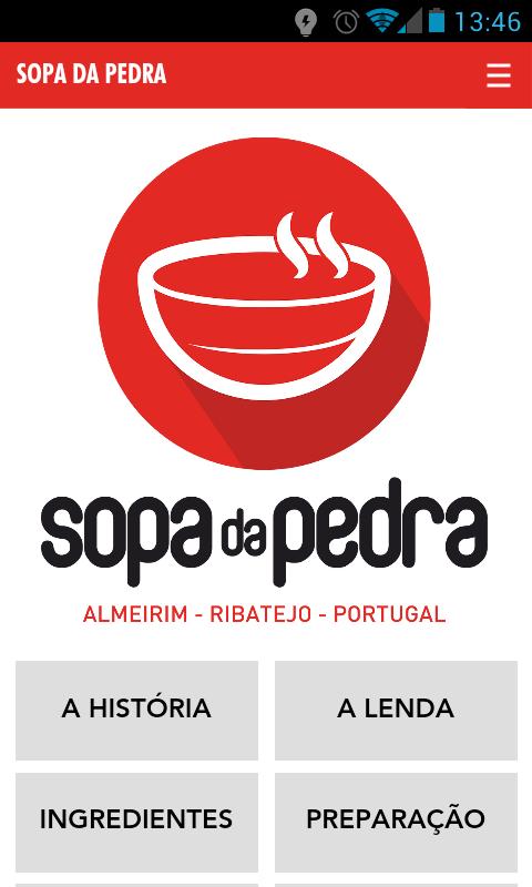 Sopa da Pedra App